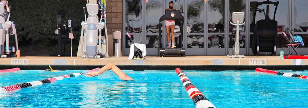 Aztec Aquaplex pool and fitness
