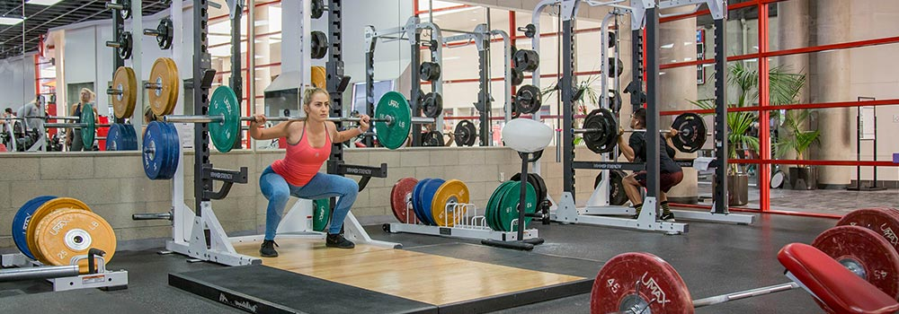 ARC Weight Room Squat
