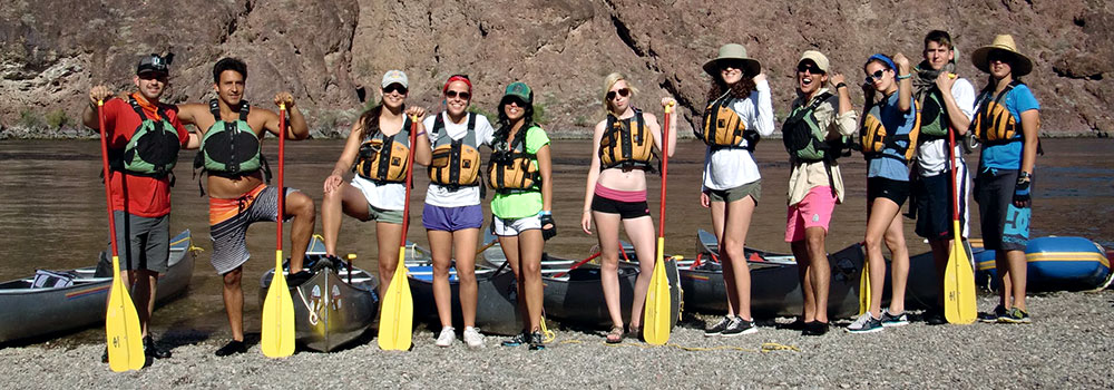 Colorado River Black Canyon Hot Springs Exploration & Canoeing