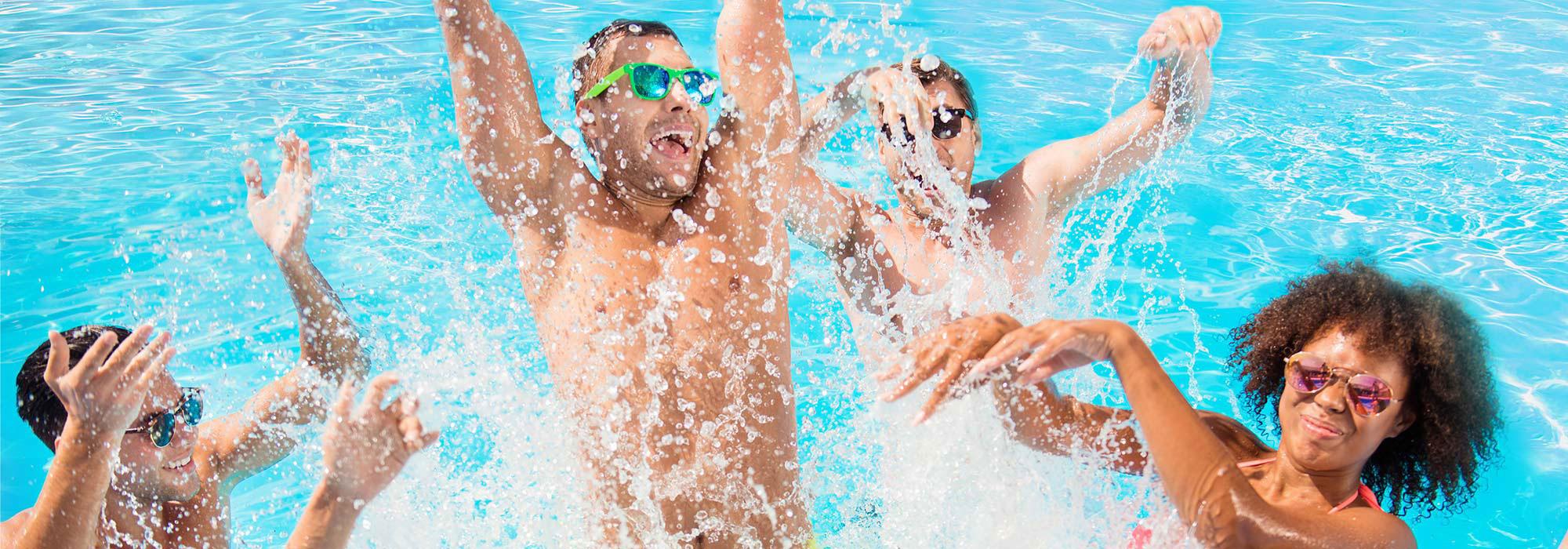 Aztec Aquaplex Pool Fun