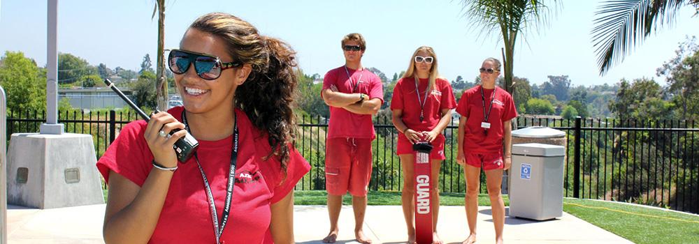 Aztec Recreation Staff