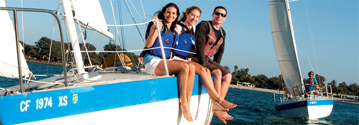 Keelboat Sailing - ENS138