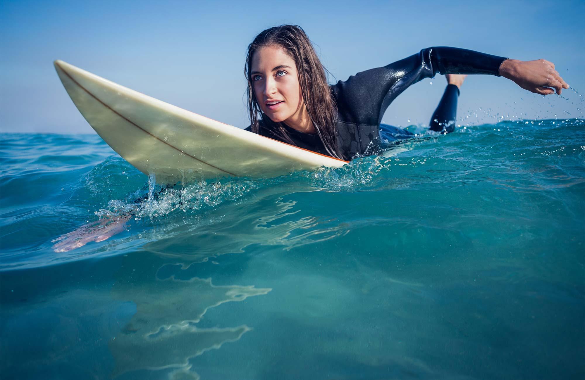 Get credit learning to surf Slide