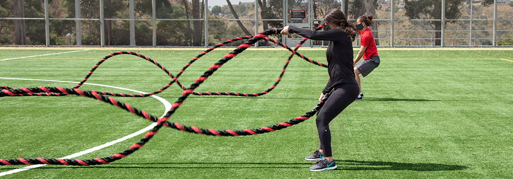 Ropes workout