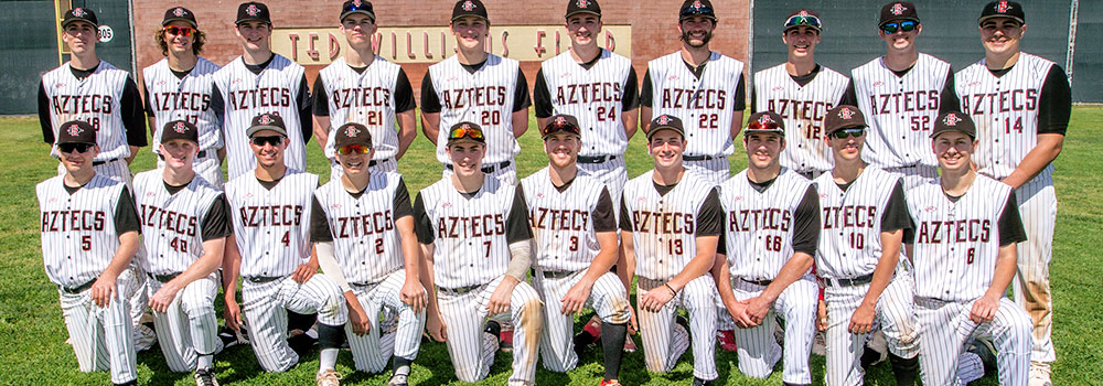 Club Baseball Roster   Sport Clubs   Aztec Receation   A.S
