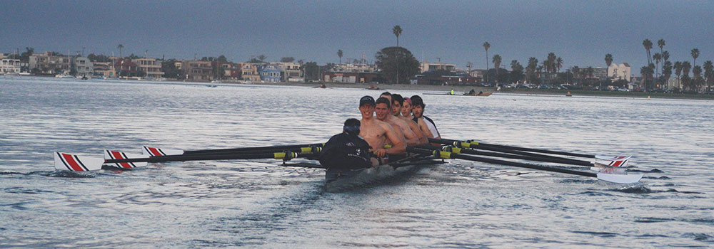 Men's Crew Club Rowing