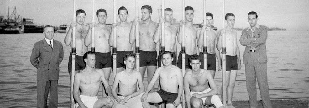San Diego Rowing Club 1947
