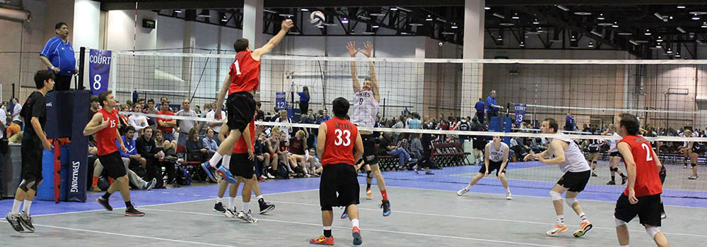 Men's Volleyball Club Game
