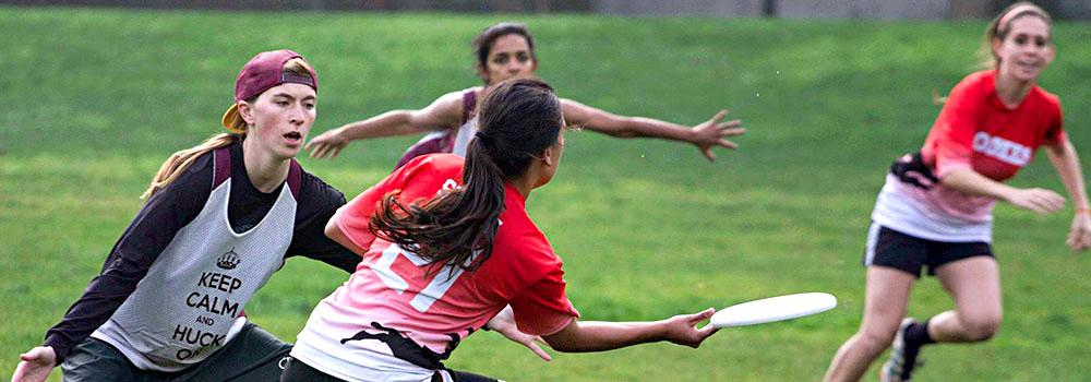 Women's Ultimate Frisbee Sport Club