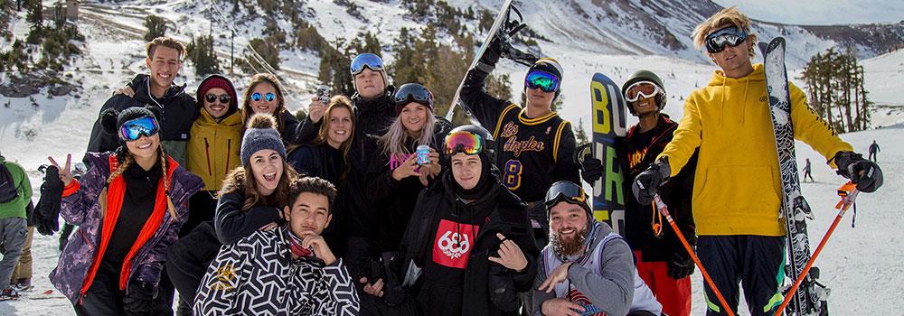 Ski & Snowboard Club Team