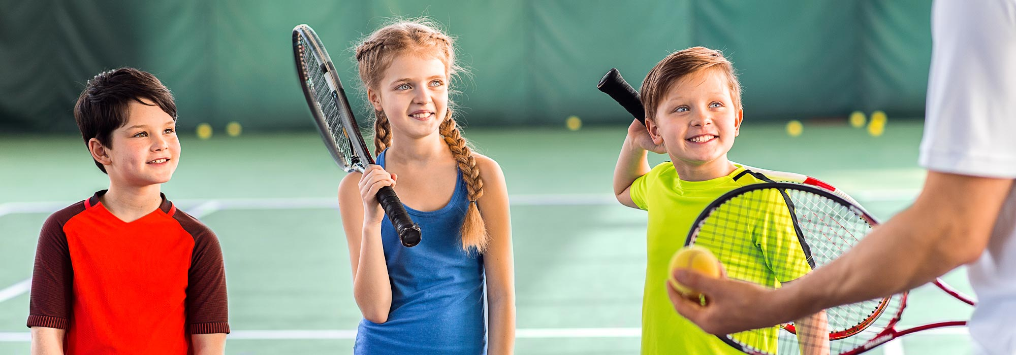 Youth Tennis Lesson