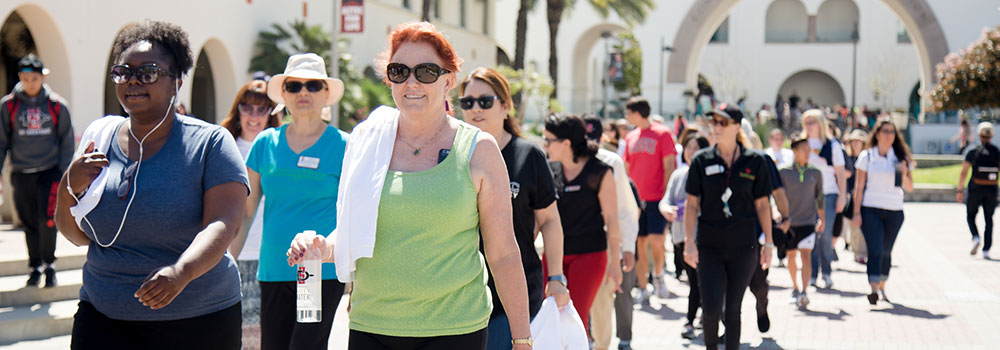 Faculty and Staff Walking Group