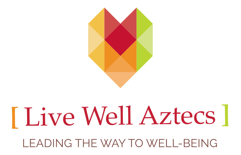 Aztecs Live Well Logo