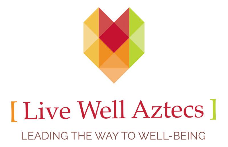 Live Well Aztecs Logo