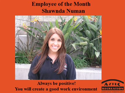 Employee of the Month June 2018